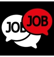 Labor Market icon from Business Bicolor Set vector image vector image