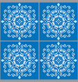 lisbon tiles azujelo seamless pattern vector image vector image