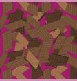 milk brown chocolate bar seamless pattern sweet vector image vector image