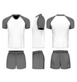 rugby uniform jersey vector image vector image