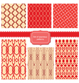 Set of fabric textures with different lattices vector | Price: 1 Credit (USD $1)