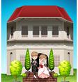 Wedding vector image vector image