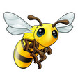 cute bee character vector image