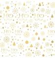 Christmas gift tags set vector image vector image