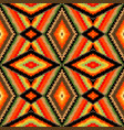 colorful kaleidoscope pattern vector image vector image