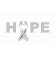 parkinsons disease ribbon vector image vector image