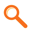 Search sign symbol vector image vector image