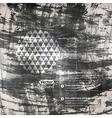 watercolor texture Grunge paper template Wet paper vector image vector image