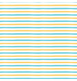 yellow and blue summer pattern with handmade vector image