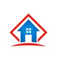 home architecture icon building logo vector image