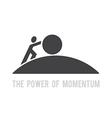 power of momentum vector image