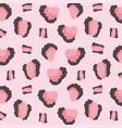 animal skin print pattern irregular abstract vector image vector image