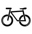 bicycle vehicle isolated icon vector image vector image