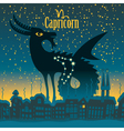 capricorn vector image vector image