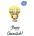 Chanukah vector image vector image