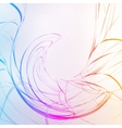 colorful abstract background futuristic wavy eps10