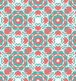 Colorful Geometric designs floral simple pattern