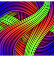 Colorful striped background for your design vector image vector image