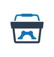 e-commerce solution icon vector image vector image