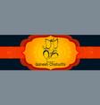 festival banner design for happy ganesh chaturthi vector image vector image