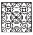 medieval tile circle pattern pieces of colored vector image vector image
