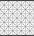 monochrome seamless pattern regularly repeating vector image vector image