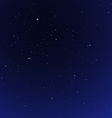 night star sky cosmos vector image