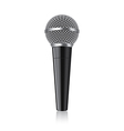 object modern microphone vector image vector image