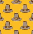 Sketch Thanksgiving hat vector image vector image