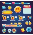 Sweet world mobile GUI set elements web games