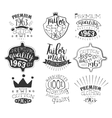 Taylor Shop Vintage Stamp Collection vector image vector image