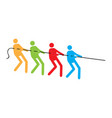 teamwork concept image vector image vector image