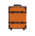 Travel suitcase isolated