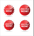 available now stickers and tags collection