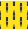 beer bottles seamless pattern in modern vector image vector image