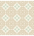 Beige wallpaper pattern vector image vector image