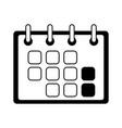 calendar reminder planning vector image