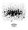 distressed spray grainy overlay texture grunge vector image