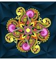 Elegant floral ornament vector image vector image