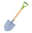 garden shovel vector image