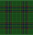 green blue tartan plaid seamless pattern vector image vector image