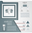 infographic template for business project vector image