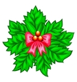 Merry Christmas decoration vector image