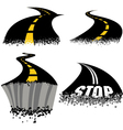 Road Rash vector image