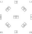 sun cream pattern seamless vector image vector image