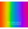 Rainbow blurred background