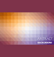 abstract color mosaic background vector image