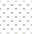 avia show pattern seamless vector image vector image