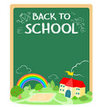 back to school poster design xaxa vector image vector image