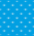 old music pattern seamless blue vector image